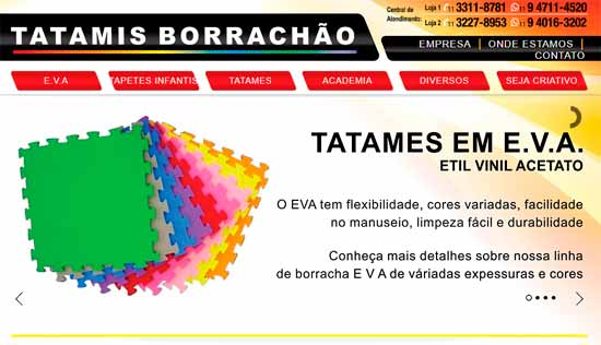 TATAMIS BORRACHÃO
